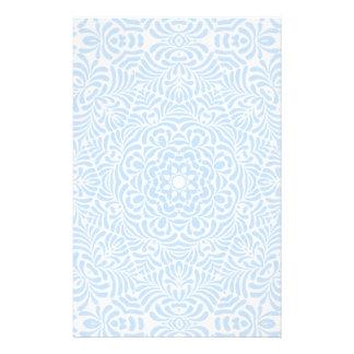 Artigos de papelaria azuis Pastel da edredão do pa
