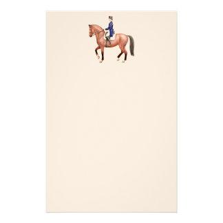 Artigos de papelaria clássicos do cavalo do adestr