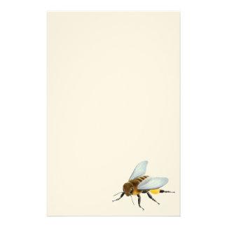 Artigos de papelaria da abelha do mel