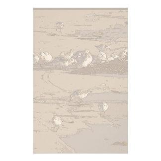 Artigos de papelaria da arte dos gaiteiros da