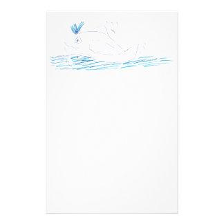 Artigos de papelaria da baleia de Wally