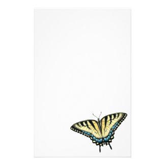 Artigos de papelaria da borboleta de Swallowtail d