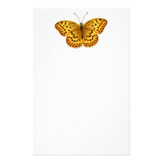 Artigos de papelaria da borboleta do Fritillary do