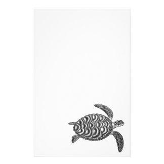 Artigos de papelaria da tartaruga de mar de Hawksb