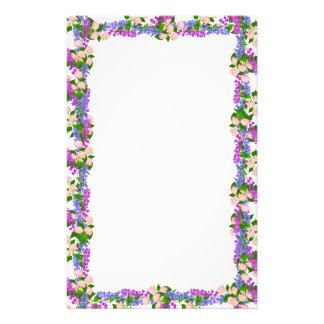 Artigos de papelaria das flores do Hydrangea & do