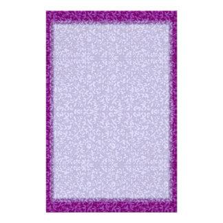 Artigos de papelaria das videiras da ameixa da l