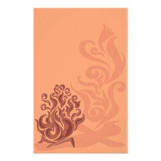 Artigos de papelaria de cobre encantadores da