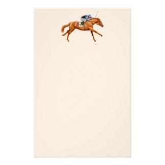 Artigos de papelaria do cavalo de raça do puro-san