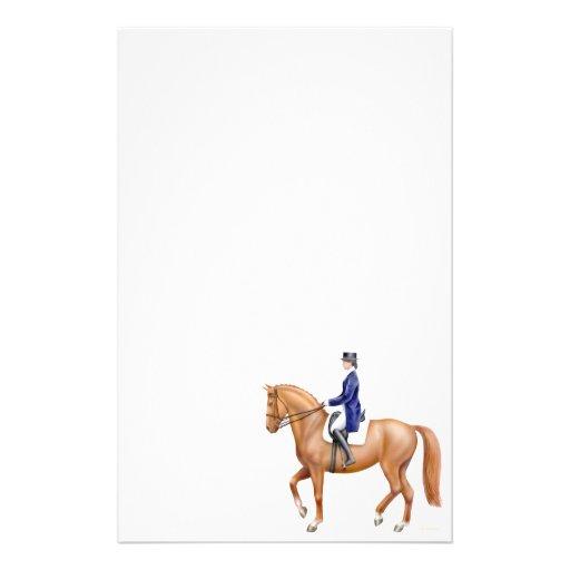 Artigos de papelaria do cavalo do adestramento da