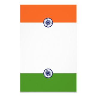 Artigos de papelaria do correspondente (a bandeira