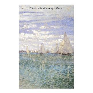 Artigos de papelaria do impressionismo da raça dos