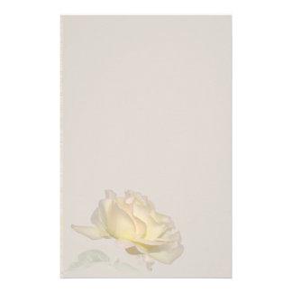 Artigos de papelaria do rosa amarelo