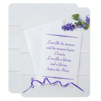 artigos de papelaria do weddingwhite na madeira convite 10.79 x 13.97cm
