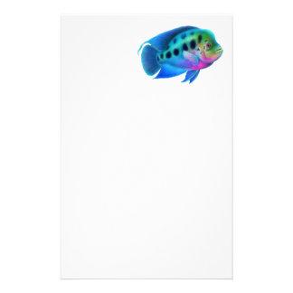 Artigos de papelaria dos peixes de cichlidae de Fl