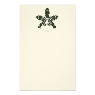 Artigos de papelaria exóticos da orquídea de Wilso