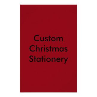 Artigos de papelaria feitos sob encomenda do Natal