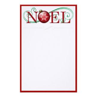 Artigos de papelaria felizes de Noel