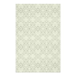 Artigos de papelaria geométricos barrocos do teste