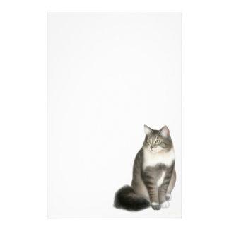 Artigos de papelaria macios do gato de Duffy