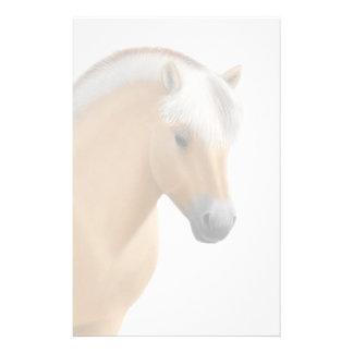 Artigos de papelaria noruegueses do cavalo do fior