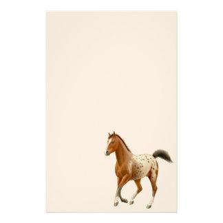 Artigos de papelaria novos do cavalo do Appaloosa