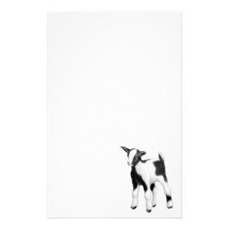 Artigos de papelaria pequenos da cabra do bebê