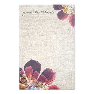 Artigos de papelaria personalizados   da flor do