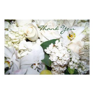 Artigos de papelaria Wedding de You_ do obrigado