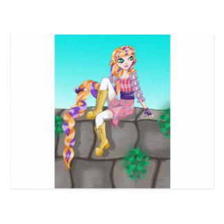 Artigos de Rapunzel Cartão Postal