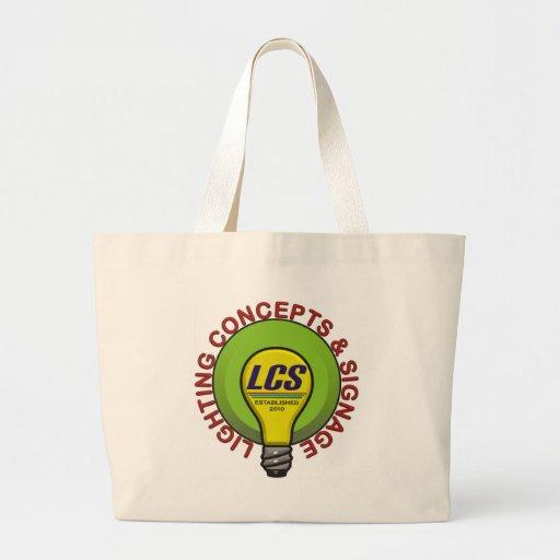 Artigos do logotipo do LCS Bolsa De Lona