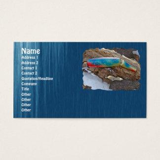 """Artigos ILUMINADOS """"PERUCA"""" da atração da água Cartão De Visitas"""
