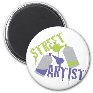 Artista da rua imã