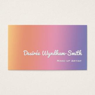 Artista de composição Pastel do inclinação Cartão De Visitas