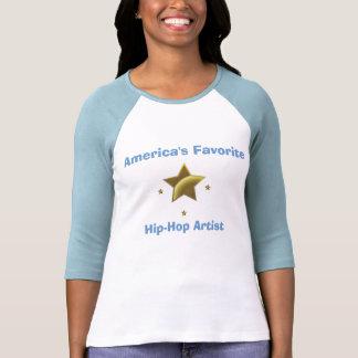 Artista de Hip Hop: O favorito de América T-shirt