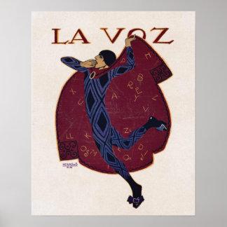 Artista espanhol Penagos do ~ da ilustração do art Impressão