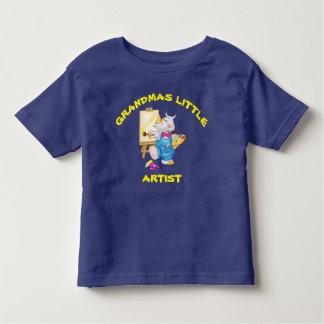 Artista pequeno das avós camiseta infantil