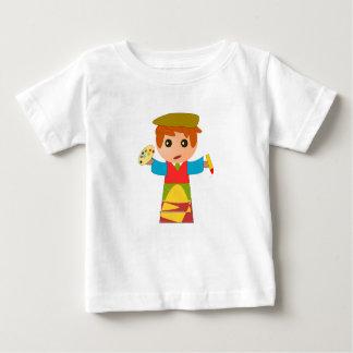 Artistas dos desenhos animados - camisa do bebê