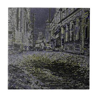 Artístico as ruas dos anos 30 de Quebeque Canadá
