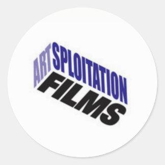 Artsploitation filma etiquetas
