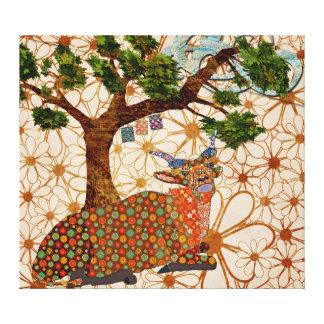 Artsy Addax Musical Breeze  Canvas Art Canvas Print