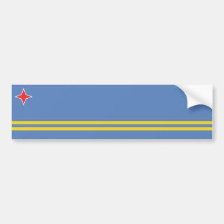 Aruba/bandeira de Aruban, Países Baixos/Dutch Adesivos