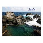Aruba, piscina natural cartao postal