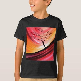 Árvore abstrata - arte moderna tshirts