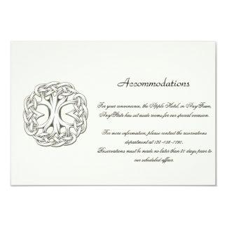 Árvore celta da inserção do casamento da vida convites