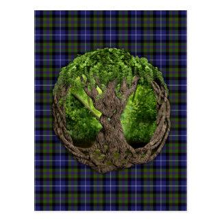 Árvore celta do orgulho das montanhas da vida de S Cartão Postal
