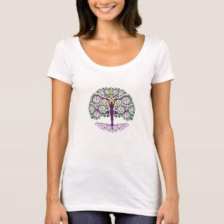 Árvore da camisa do Colher-Pescoço da vida