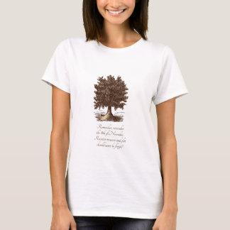 Árvore da camiseta da traição & do lote da