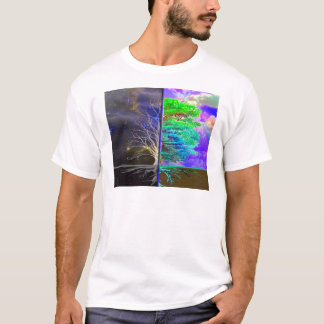 Árvore da conexão da vida camiseta