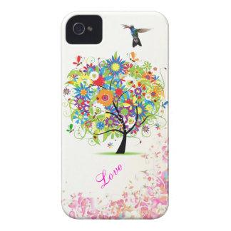 Árvore da flor capa para iPhone