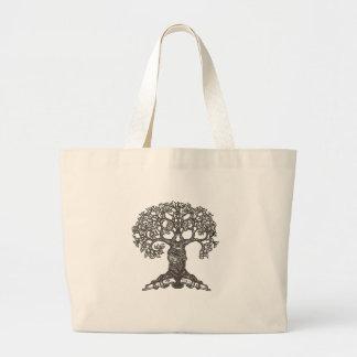 Árvore da leitura sacola tote jumbo